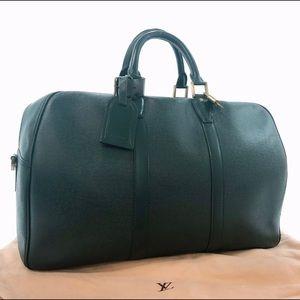 Coming soon Louis Vuitton green duffel bag